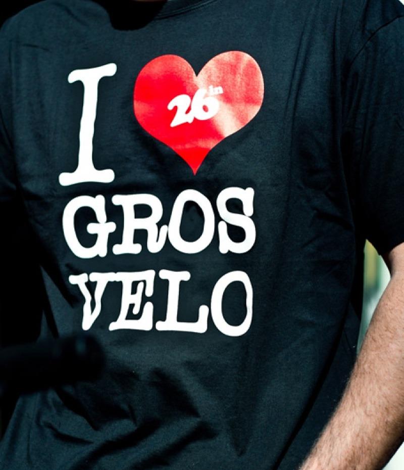 I Love Gros Vélo Noir