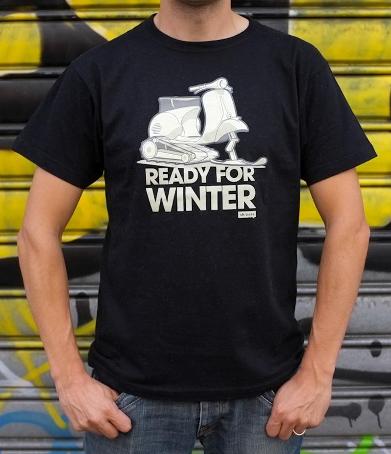 Ready For Winter Vespa