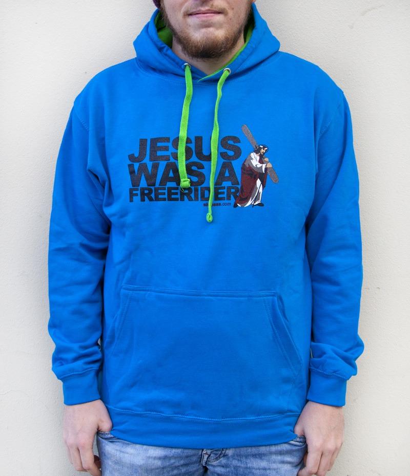 Sweat Jesus was a Freerider Blue
