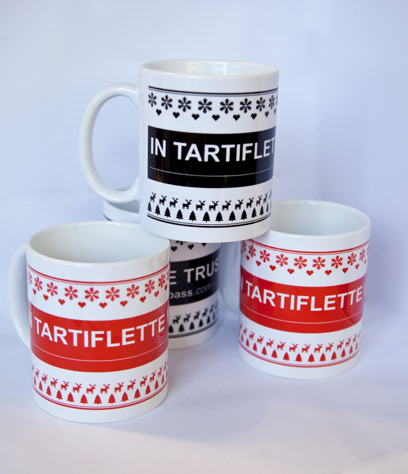 Pack 4 mugs In Tartiflette We Trust