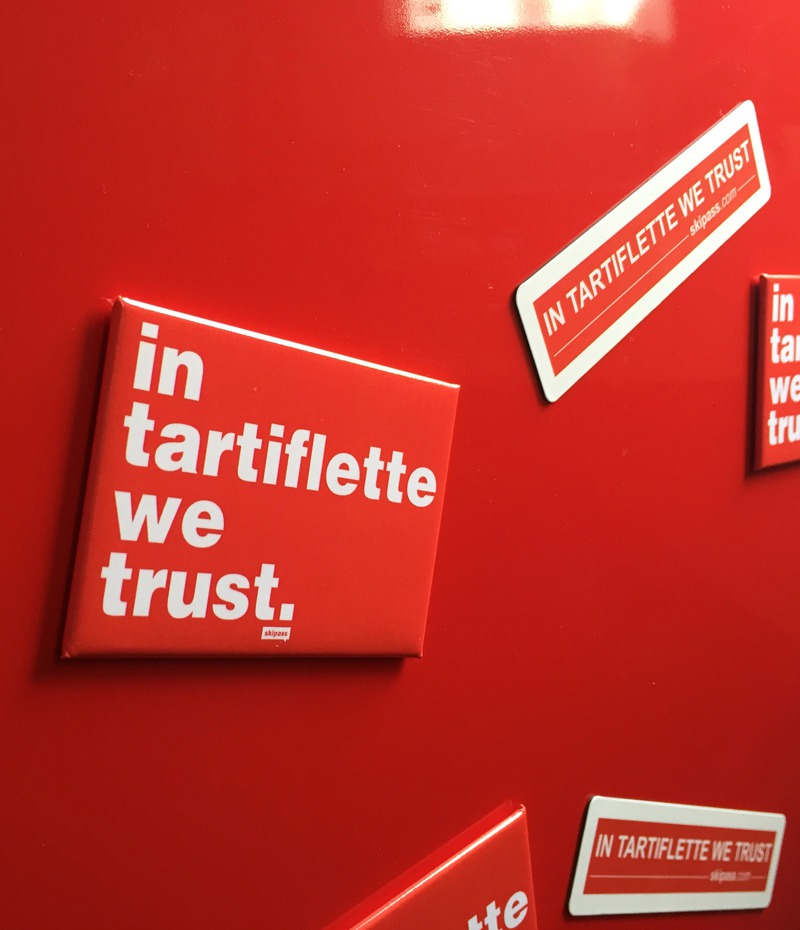 Magnets In Tartiflette We Trust