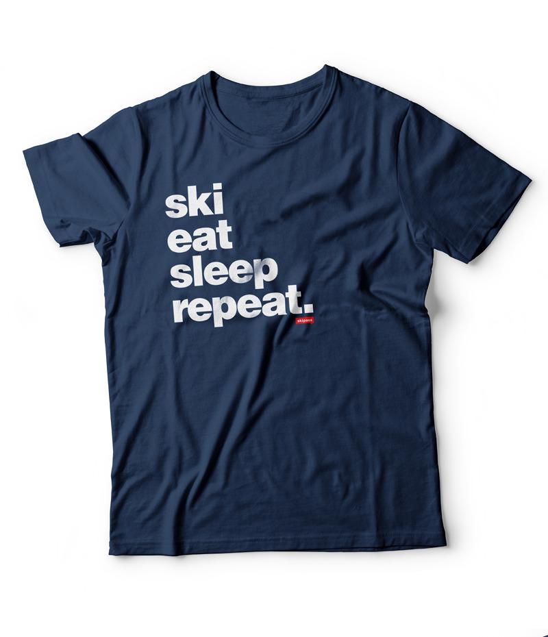 Ski Eat Sleep Repeat