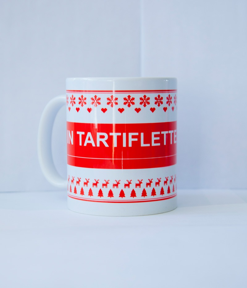 Mug In Tartiflette We Trust rouge (1)