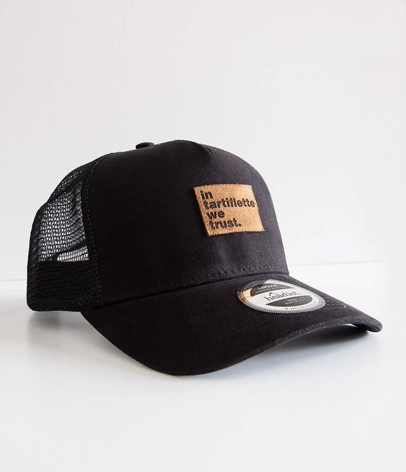 casquette In Tartiflette We Trust trucker