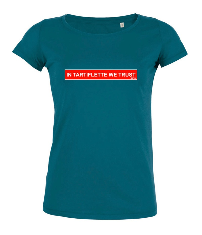 T-shirt In Tartiflette We Trust femme Ocean