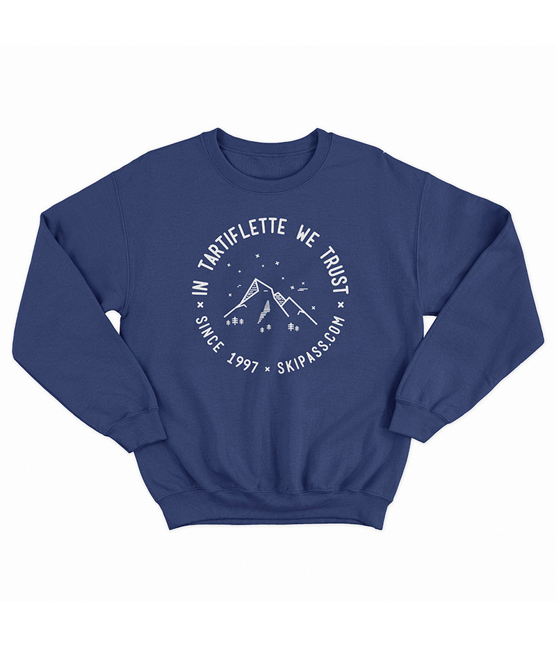Sweat In Tartiflette We Trust vintage