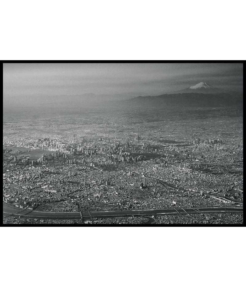 Tokyo et le Mont Fuji vus du ciel