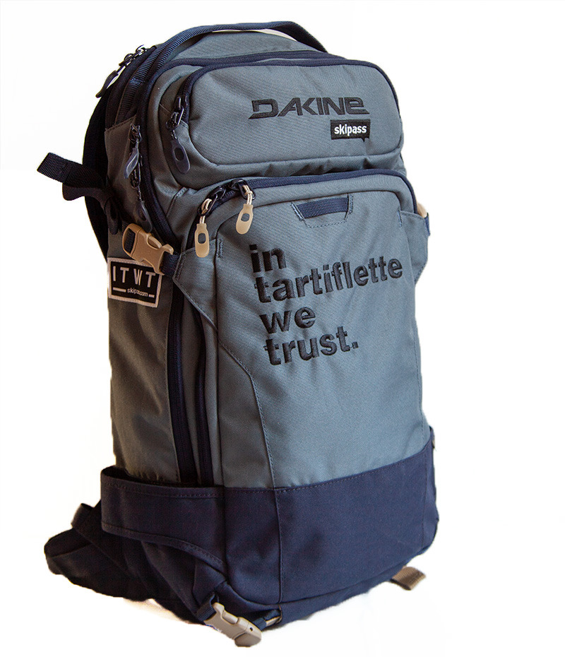 Dakine x In Tartiflette We Trust Dark Slate