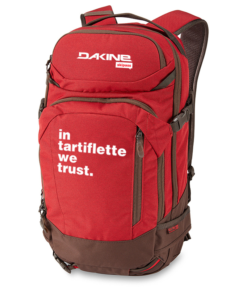 Dakine x In Tartiflette We Trust Rouge