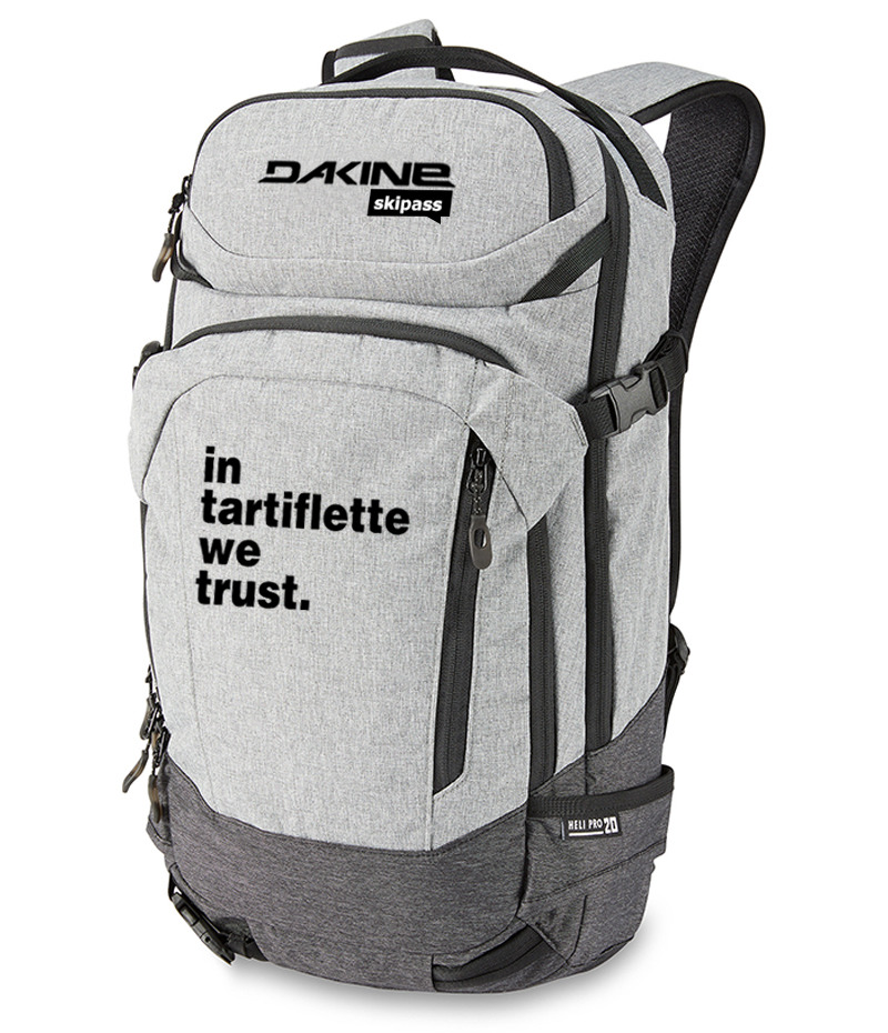 Dakine x In Tartiflette We Trust Gris